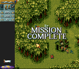 Cannon Fodder - Mission 1 Cleared! - User Screenshot