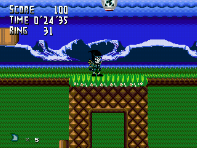 Metal Sonic Hyperdrive (Beta 2) - playing as the creator xD - User Screenshot